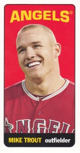 2013 Topps Archives 65FB Mini Tallboys Mike Trout
