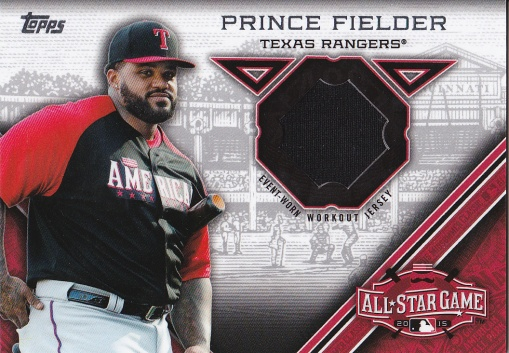 2015 Topps Update All-Star Stitch Fielder