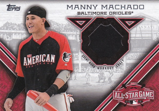 2015 Topps Update All-Star Stitch Machado