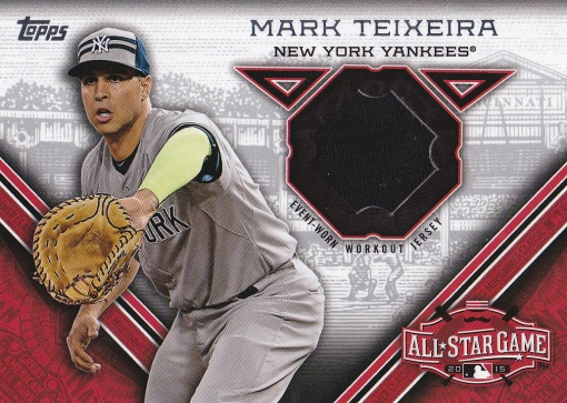 2015 Topps Update All-Star Stitch Teixeira