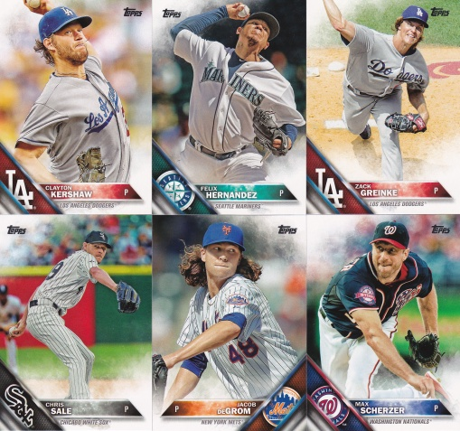 2016 Topps best pitchers