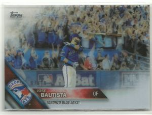 2016 Topps Clear Bautista