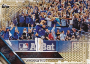 2016 Topps Gold Bautista