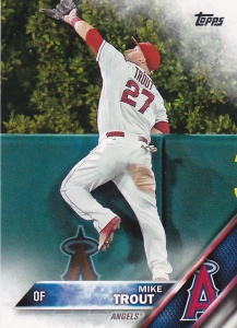 2016 Topps Mike Trout