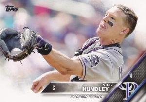2016 Topps Nick Hundley