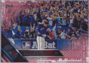 2016 Topps Pink Bautista