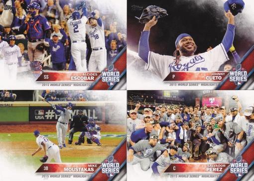 2016 Topps World Series Highlights