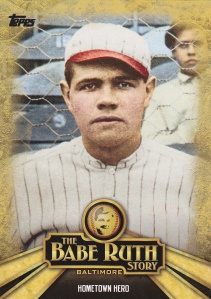 Trade Cardboard Collections 2015 Babe Ruth Story