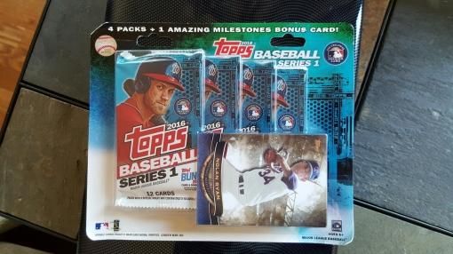 2016 Topps Target Bonus Pack