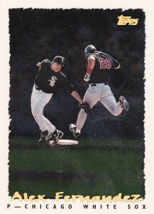 1995 Topps Pre-Production Spectralite Alex Fernandez