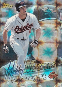 1997 Topps Hobby Masters Brady Anderson