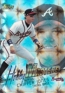 1997 Topps Hobby Masters Chipper Jones