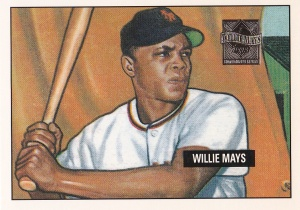 1997 Topps Mays Reprints 1951 Bowman