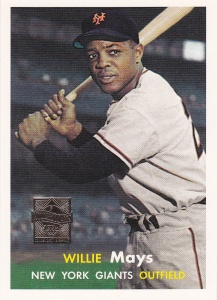 1997 Topps Mays Reprints 1957