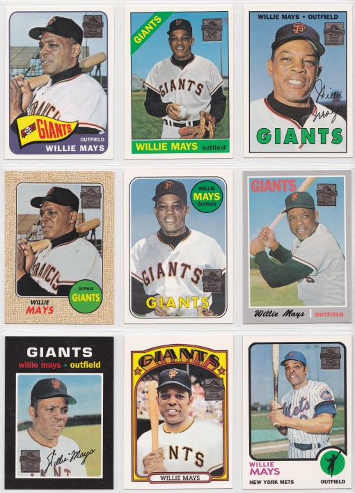 1997 Topps Mays Reprints 3