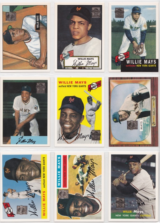 1997 Topps Mays Reprints