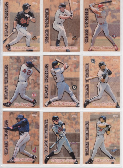 1997 Topps Team Timber 2