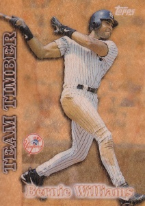 1997 Topps Team Timber Bernie Williams