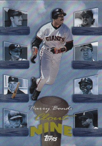 1998 Topps Clout 9 Bonds