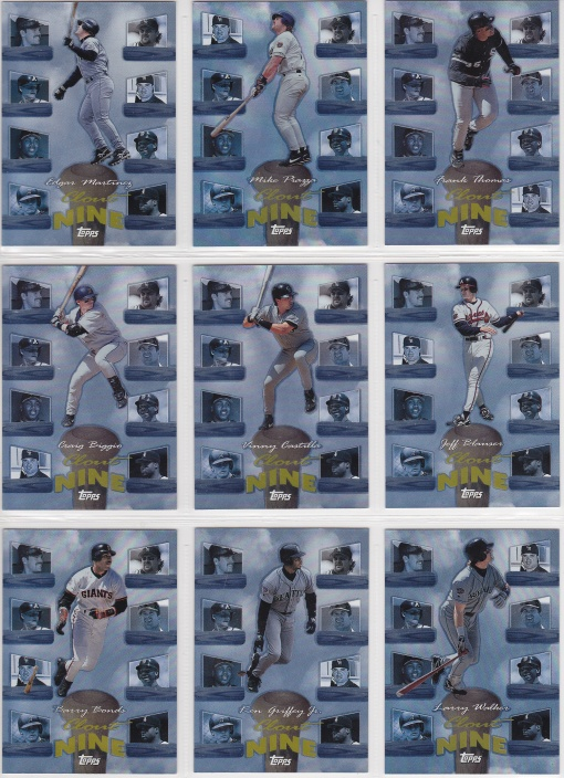 1998 Topps Clout 9 complete