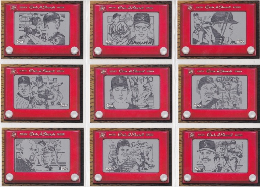 1998 Topps Etch a Sketch complete