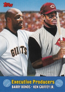 2000 Topps Combos Bonds Griffey