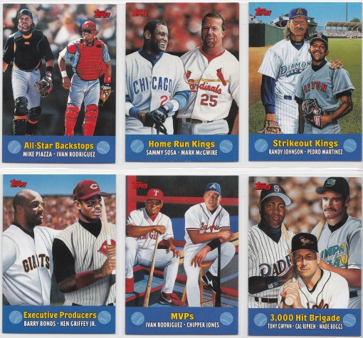 2000 Topps Combos complete