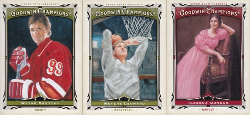 2013 Goodwin 1st card & hundreds
