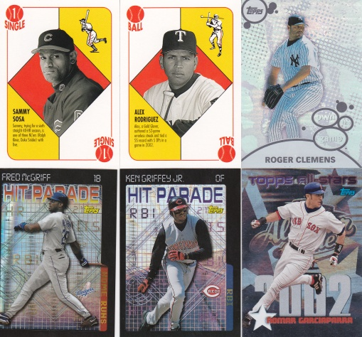 trade - Addiction as Therapy Feb16 2003 Topps inserts