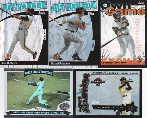 trade - Addiction as Therapy Feb16 2004 Topps inserts