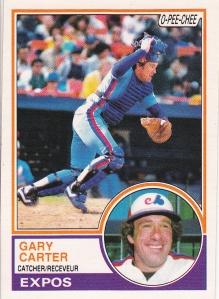 1983 OPC Gary Carter