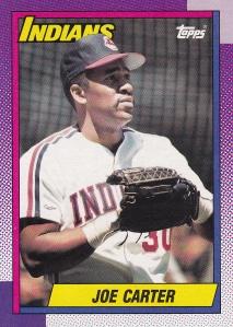 1990 Topps Joe Carter