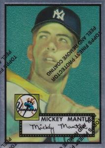 1996 97 Topps Mantle Finest 52 Topps