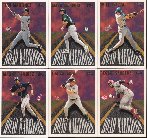 1996 Topps Road Warriors complete 2