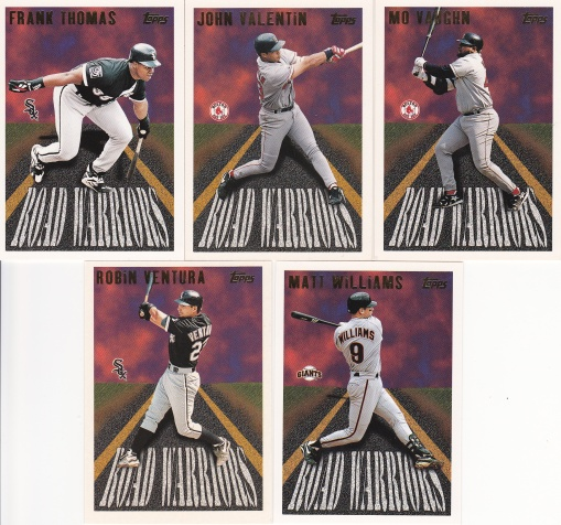 1996 Topps Road Warriors complete 3