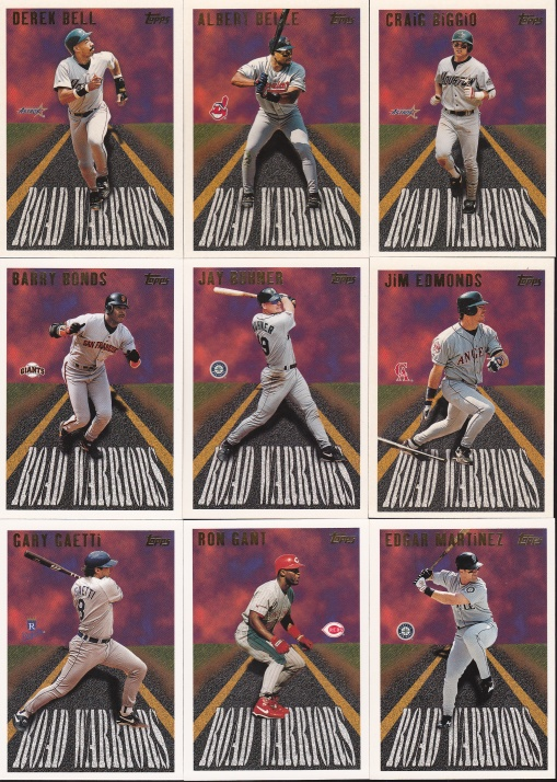 1996 Topps Road Warriors complete