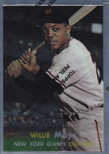 1997 Topps Mays finest 57