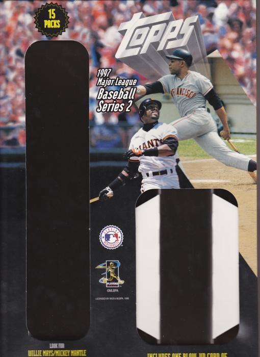 1997 Topps Wal-Mart s2 box