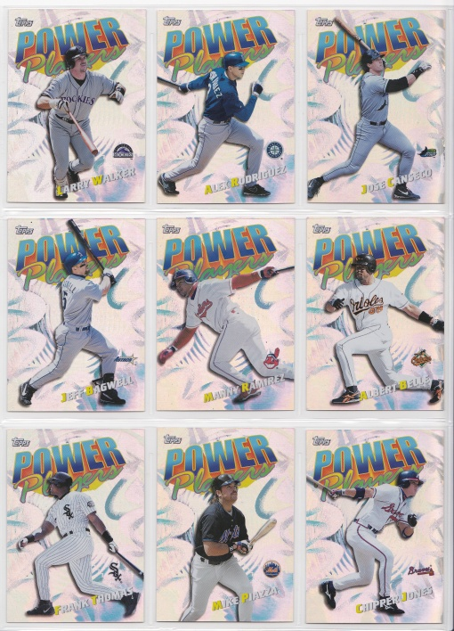 2000 Topps Power Players complete 2