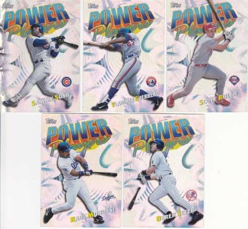 2000 Topps Power Players complete 3