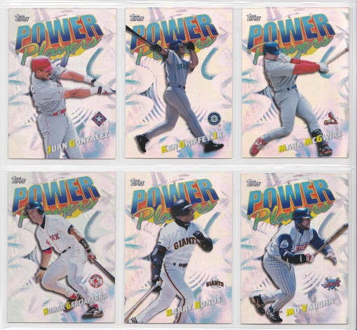2000 Topps Power Players complete