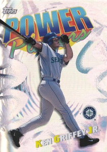 2000 Topps Power Players Griffey