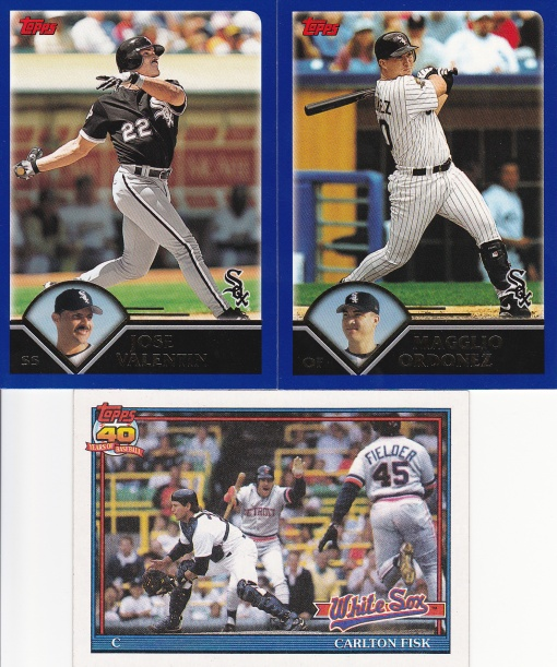 Trade - White Sox cards April 2016
