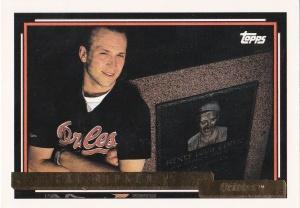 1992 Topps Gold Ripken