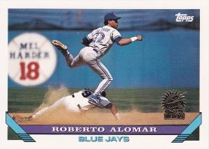 1993 Topps Inaugural Marlins Roberto Alomar