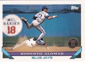 1993 Topps Inaugural Rockies Roberto Alomar
