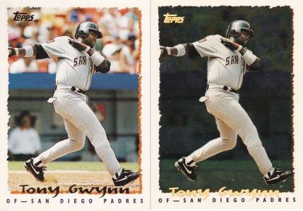 1995 Topps Gwynn rainbow