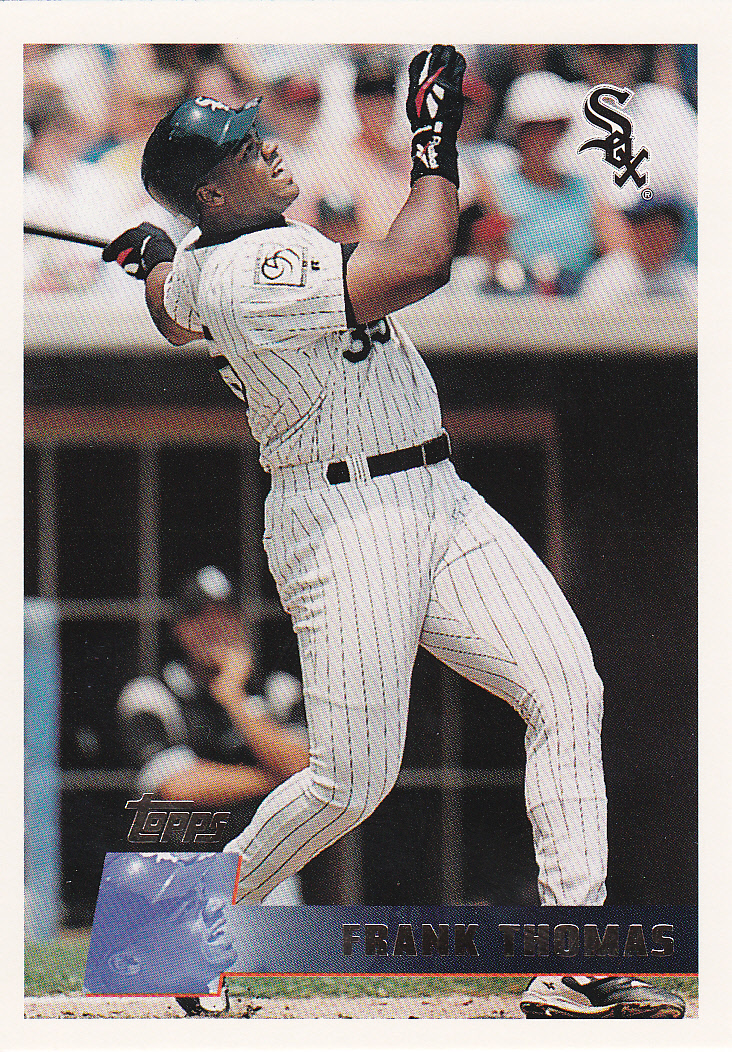 1996 Topps Parallels Frank Thomas No More Hunting Left To Do