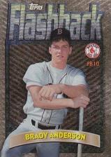 1998 Topps Flashback Brady Anderson back