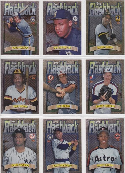 1998 Topps Flashback complete back